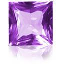 Аметист фиолетовый квадрат