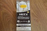 Кабель E-Cable HDMI - HDMI 3м плоский белый