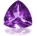 Аметист фиолетовый триллион
