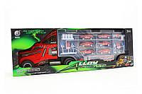 Игрушечная машинка «Трейлер» (6 гоночных машинок, 1 фура) 95577-2