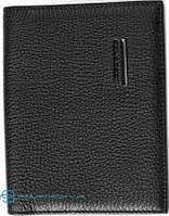 Солидная кожаная обложка для паспорта Piquadro Modus PP1660MO_N, черный