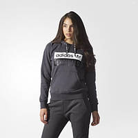 Теплая худи для женщин Adidas Shadow Black S16-St AY6631