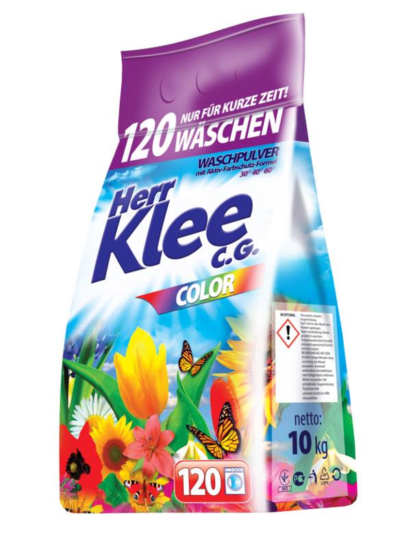 Пральний порошок Herr Klee color 10 кг.