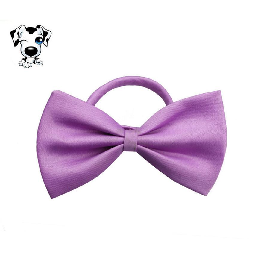 Галстук бабочка для собак и кошек фиолетовый