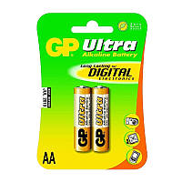 Батарейки AA GP Ultra (15AU-S2) 2 шт