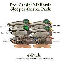 Муляжи уток GREENHEAD GEAR® PRO-GRADE SERIES™ MALLARD SLEEPERS/RESTERS PACK