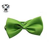 Выставочный бантик для собак и кошек на шею зеленый, фото 3