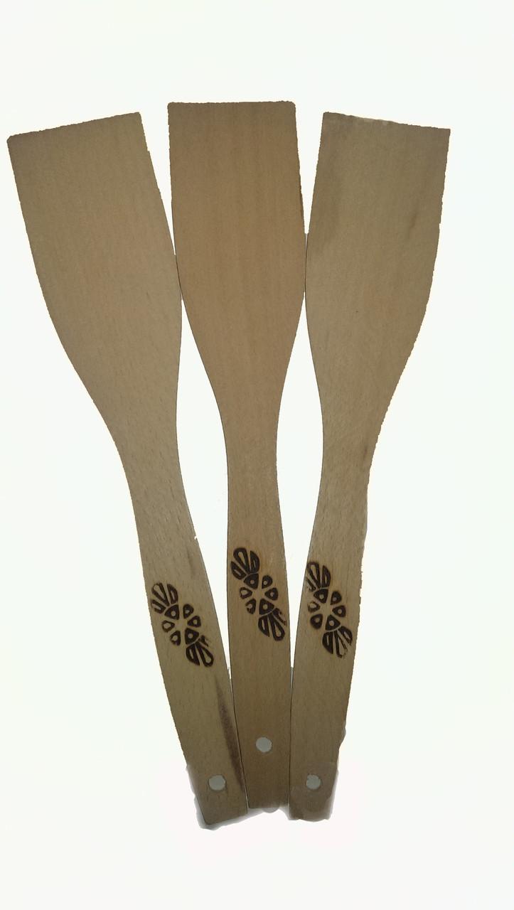 Лопатки  деревянные  28 см опт (Фигурные ,шумовки, гнутые,половники)