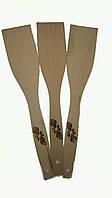 Лопатки  деревянные  28 см опт (Фигурные ,шумовки, гнутые,половники), фото 1