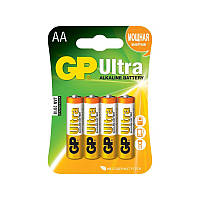 Батарейки AA GP Ultra (15AU-S4) 4 шт