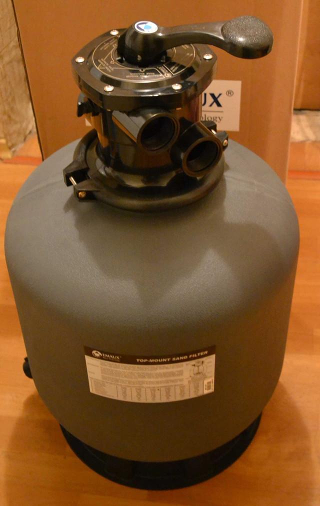 Фильтровальная бочка для бассейна Emaux P350