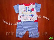 Песочник для новорожденных кулир 3-х цветный р.62 см