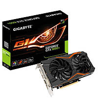 Видеокарта GIGABYTE GEFORCE GTX 1050 TI GAMING G1 4GB