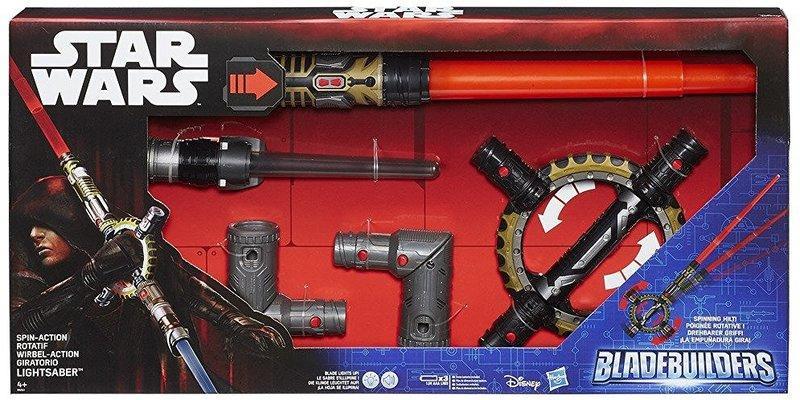 Вращающийся световой меч, Звёздные Войны, Star Wars BladeBuilders Lightsaber, Оригинал из США