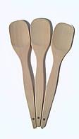 Ложка деревянная 30*6 см опт (Фигурные ,шумовки, гнутые,половники)