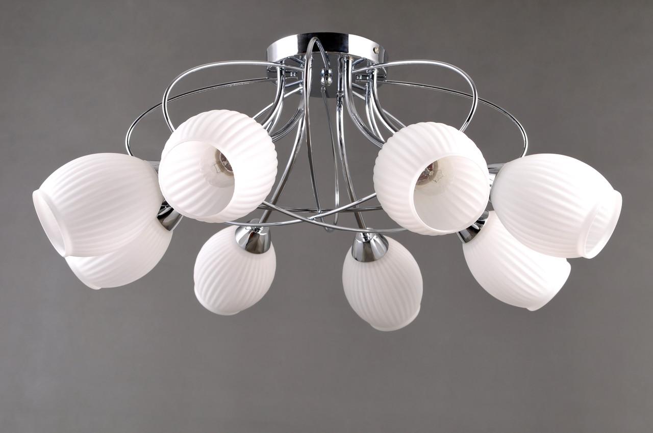 Потолочный светильник Colors MD 38578/8 хром/стекло