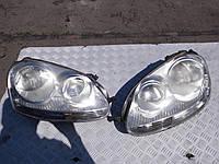 Фара лев -05 серая электр коррект VW Golf V 2003-2008
