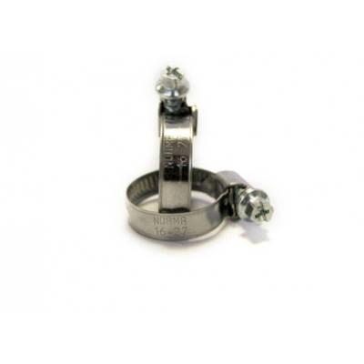 Хомут червячный Norma 16-27 мм