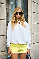 Новые желтые джинсовые шорты Denim Co