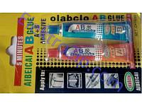 """Супер клей """"АВ"""" фирмы OlabclO -  2 в 1 - Ваш идеальный выбор для ремонта изделий металла: трубы, краны и др."""