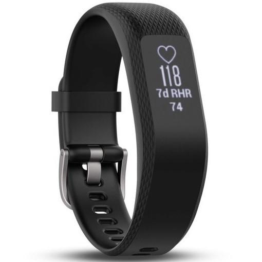 Фітнес-браслет Garmin Vivosmart 3 Black, Small/Medium