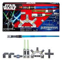 Интерактивный набор мечей Мастера Джедая, Star Wars BladeBuilders Jedi Master Lightsaber, Оригинал
