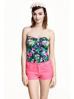 Новые розовые джинсовые шорты Denim Co