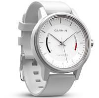 Смарт-годинник Garmin Vivomove Sport White with Sport Band