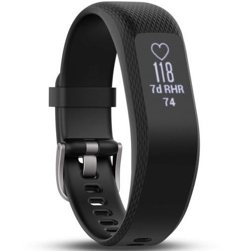 Фітнес-браслет Garmin Vivosmart 3 Black, Large