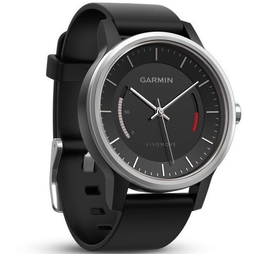 Смарт-годинник Garmin Vivomove Sport Black with Sport Band