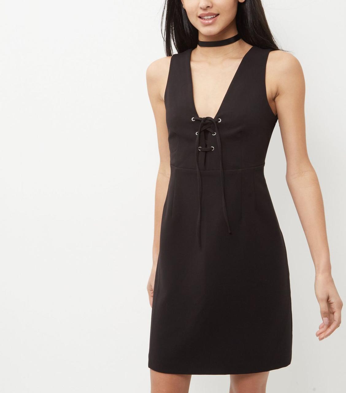 Новое платье со шнуровкой New Look