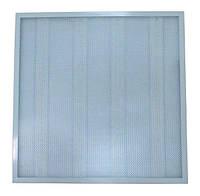 Светодиодная LED панель Optima 40W 600Х600мм с рифленым стеклом (СВО prismatic)