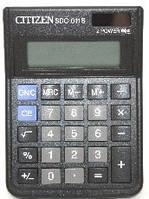 Калькулятор ʺCitizenʺ 10 разрядов. SDC - 810 BN. Размер 124 х 102