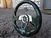 Руль спортивный с термометром №604 (темно зеленый), фото 1