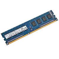 Память Hynix DDR3 4GB PC3-12800U (1600Mhz) (HMT451U6AFR8C-PB)(8x1)комиссионный товар