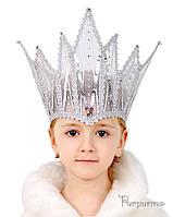 Головной убор Корона Снежной Королева