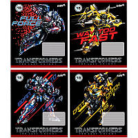 Тетрадь Kite Transformers 18 листов клетка TF17-236
