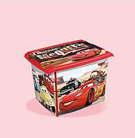 Ящик Cars для хранения игрушек 20,5 литра Keeeper