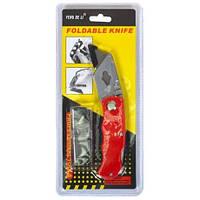Нож канцелярский (профессионал) МИКС, направляющие-металл