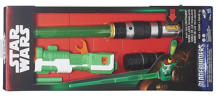 Набор меч и бластер Звёздные Войны, свет, звук!  Star Wars BladeBuilders BlastTech Lightsaber Оригинал из США