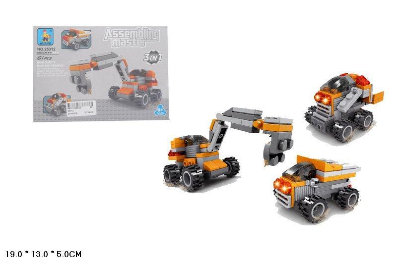 25312 Конструктор лего AUSINI 3в1 Транспорт