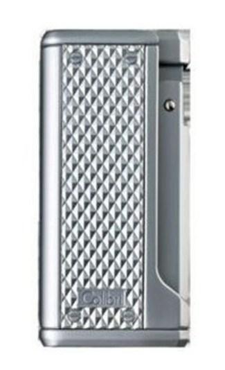Отличная зажигалка Colibri Monza турбо цвет - матовое серебро Co10003li-t