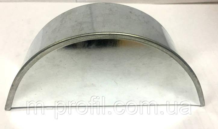 Заглушка для желоба 125мм цинк, фото 2