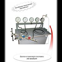 Стенд газовый испытательный типа СГИ 984ДМ