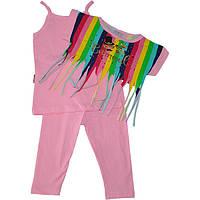 """Летний детский костюм-тройка """"Carnaval"""" , для девочки от 4-5-6 лет (3 ед. в уп.)"""
