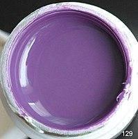 Цветной гель (гель-краска) СОСО №129