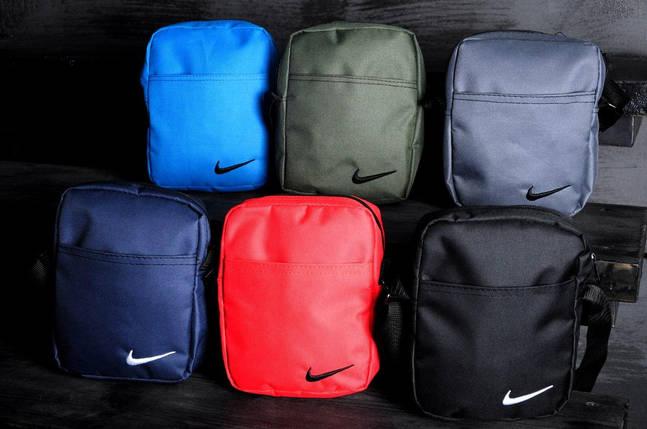 Мужская красная барсетка Nike, фото 2
