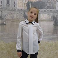 Детская блузка с длинными рукавами