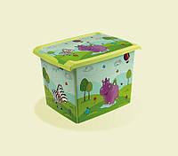 Ящик Hippo для хранения игрушек 20.5 литров Keeeper