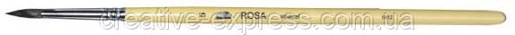 Білка кругла, 1412, № 3, д. р. пензель ROSA, фото 2